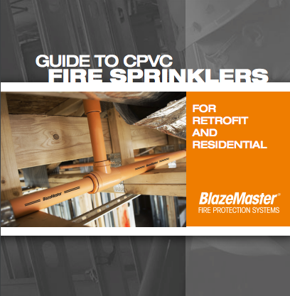 BlazeMaster Guide to CPVC Fire Sprinklers Cover