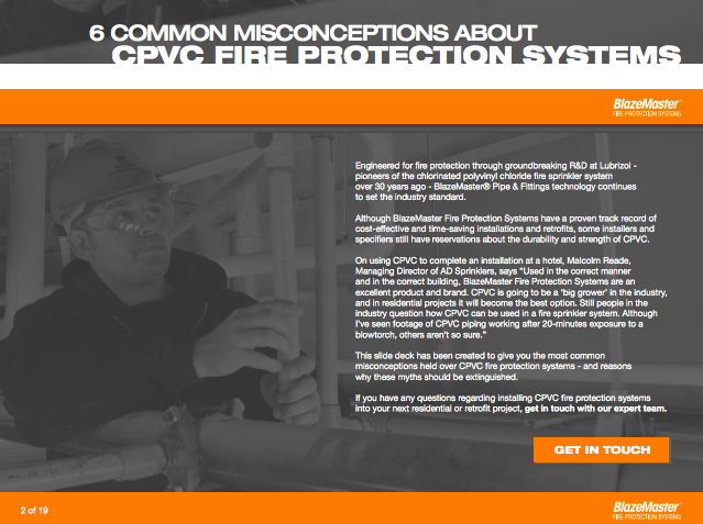 6 common misconceptions about cpvc fire protection systems deck from blazemaster cpvc