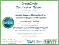 +Vantage Vinyl™ GreenCircle Certified-1-1