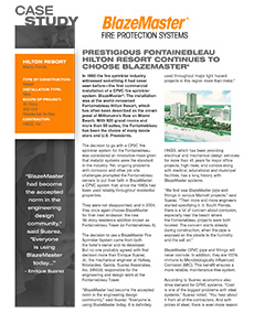 Downloadable Case Study Fontainebleau Hilton Resort