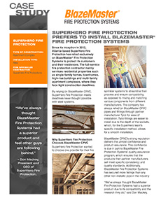 Downloadable Case Study Superhero Fire Protection