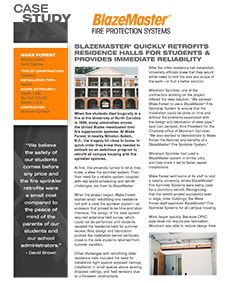 Downloadable Case Study Wake Forest University