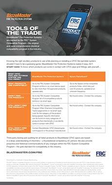 BlazeMaster CPVC Compatibility Testing