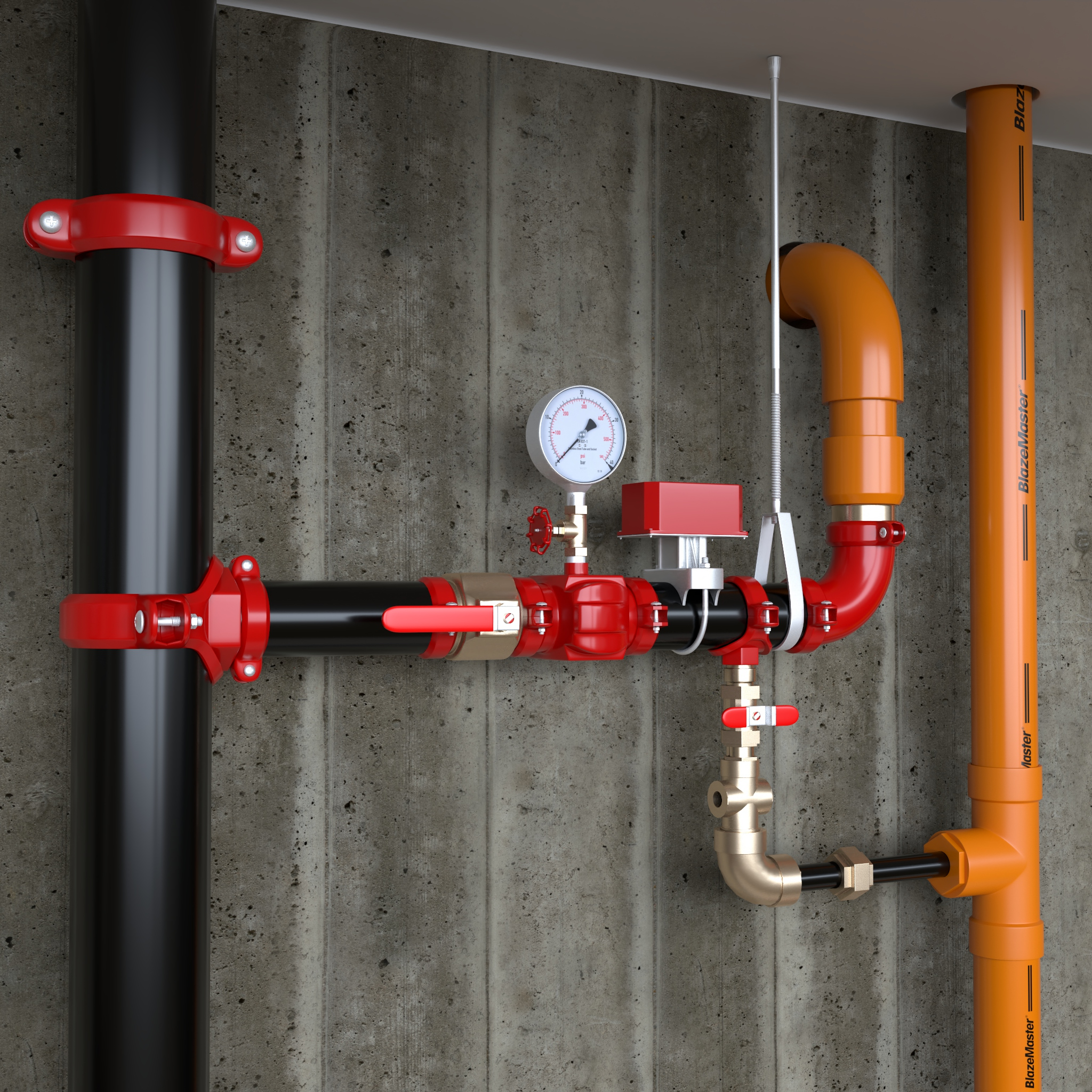 BlazeMaster® CPVC: The Right Choice for Drain Pipes