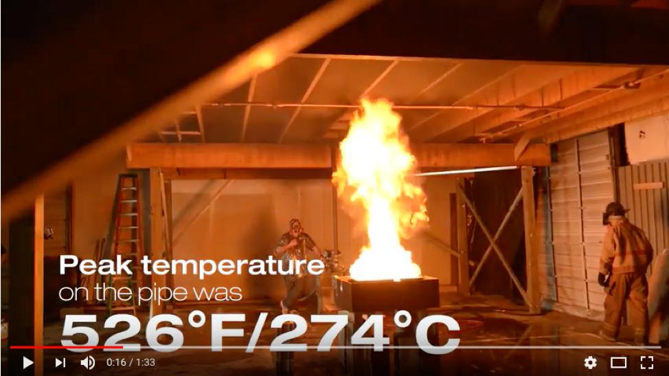 Por que usar o Sistema de Proteção contra Incêndio CPVC BlazeMaster®